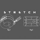 """VIBE RING """"Stretch"""" - эрекционное кольцо (вибро)"""
