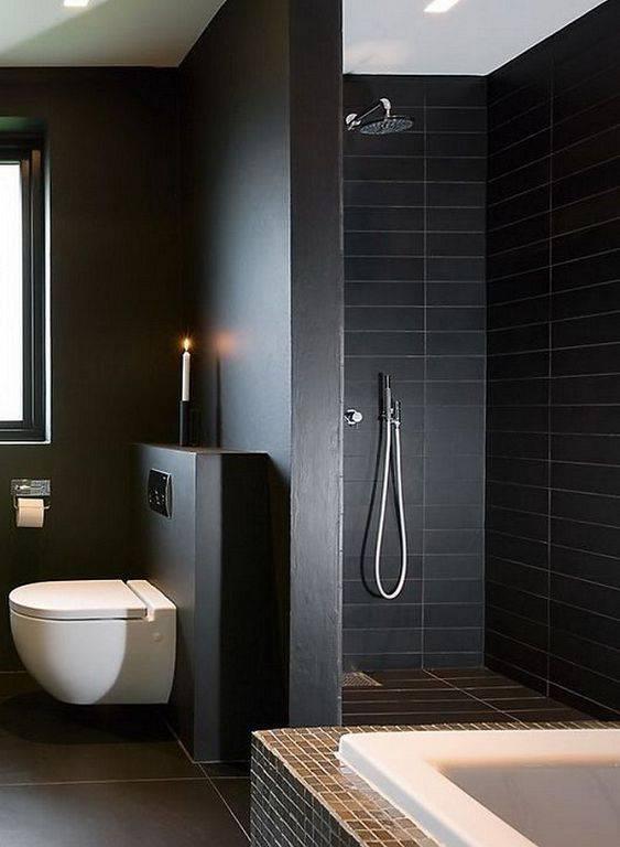Подбирая какой-либо цвет для оформления интерьера туалета, нельзя не учитывать фоновое оформление самого жилища. - лофт маленьком туалете, Стиль лофт маленьком, Внешнее оформление помещения